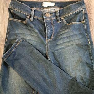 Free People Mid-rise skinny jeans